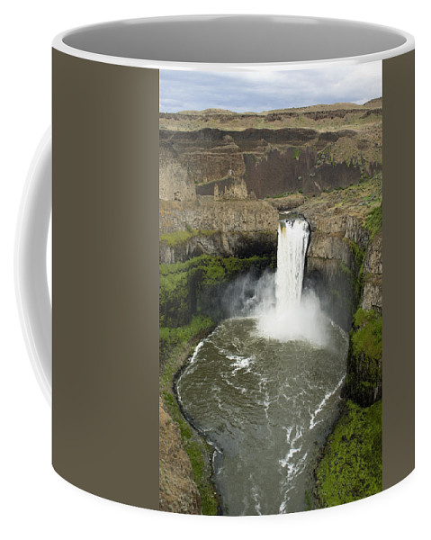 Falls Coffee Mug featuring the photograph Palouse Falls State Park by Louise Magno