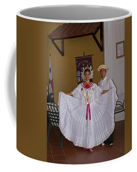 Greeters Coffee Mug featuring the photograph Panama Greetings by Heather Coen