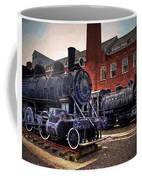 Locomotive Coffee Mug featuring the photograph Panama Railroad Locomotive 299 by Louise Reeves