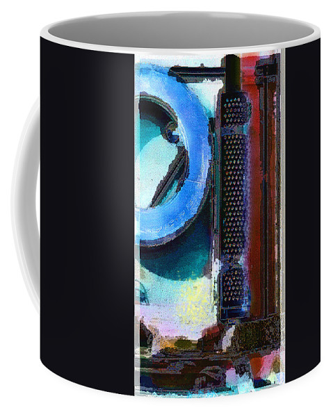 Abstract Coffee Mug featuring the photograph panel one from Centrifuge by Steve Karol
