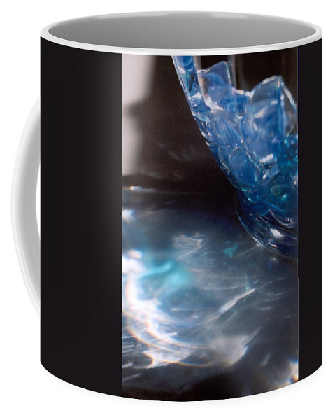 Abstract Coffee Mug featuring the photograph Panel One From Swirl by Steve Karol