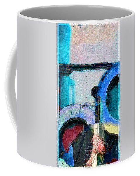 Abstract Coffee Mug featuring the photograph panel three from Centrifuge by Steve Karol