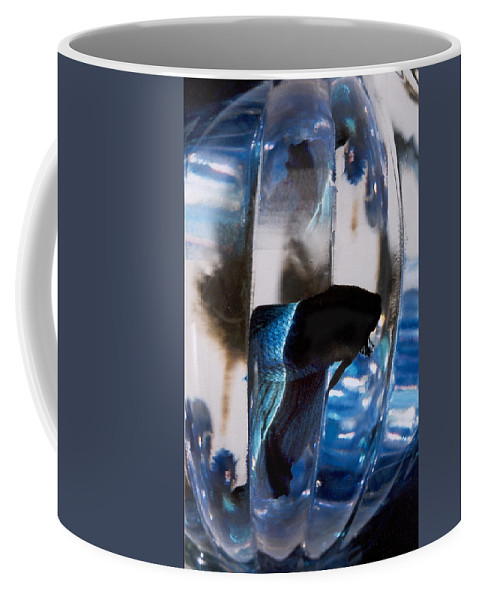 Abstract Coffee Mug featuring the photograph panel three from Swirl by Steve Karol