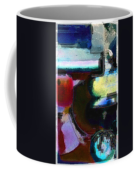 Abstract Coffee Mug featuring the photograph panel two from Centrifuge by Steve Karol