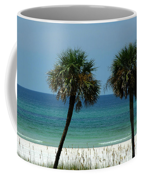 Panhandle Beaches Coffee Mug featuring the photograph Panhandle Beaches by Susanne Van Hulst