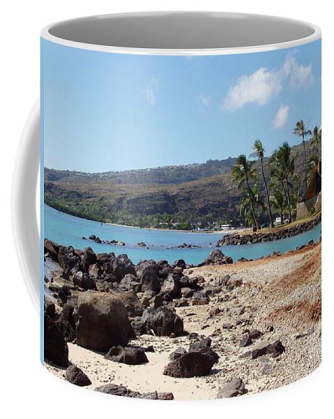 Hawaii Coffee Mug featuring the photograph Panorama by Deborah Crew-Johnson