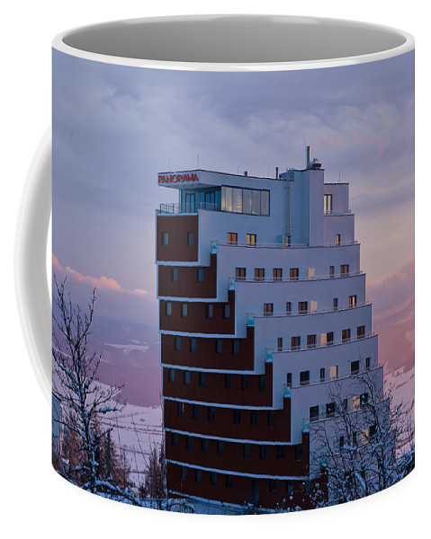 Panorama Hotel Coffee Mug featuring the photograph Hotel Panorama Resort by Alex Art and Photo