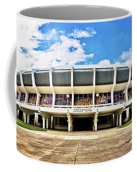 Panoramic Coffee Mug featuring the photograph Panoramic P Mac by Scott Pellegrin