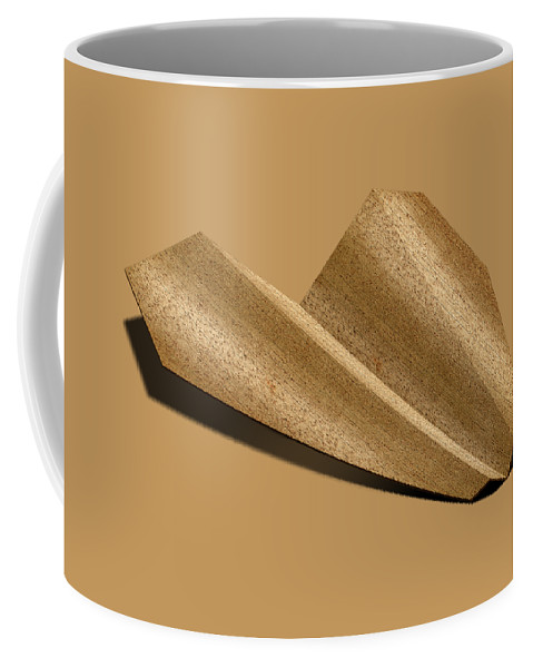 Aircraft Coffee Mug featuring the photograph Paper Airplanes Of Wood 6 by YoPedro