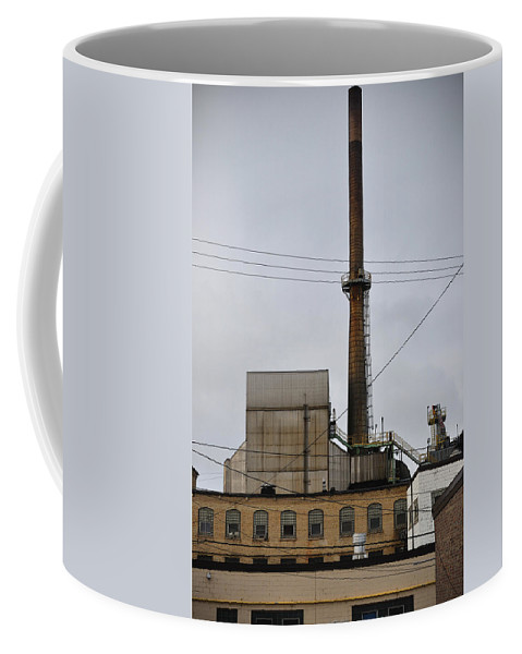 Paper Mill Coffee Mug featuring the photograph Paper Mill 2 by Tim Nyberg