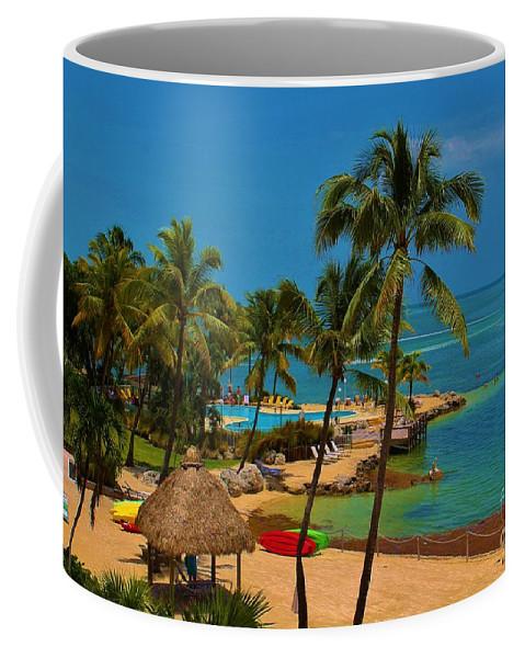 Kerisart Coffee Mug featuring the photograph Paradise Found by Keri West