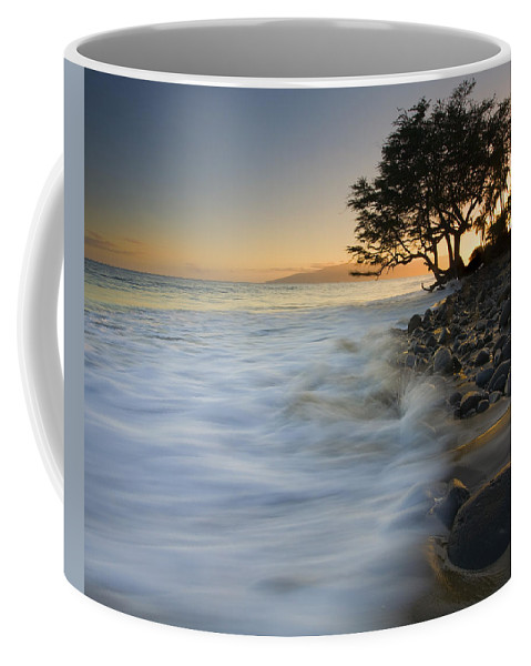 Sunset Coffee Mug featuring the photograph Paradise Gold by Mike Dawson