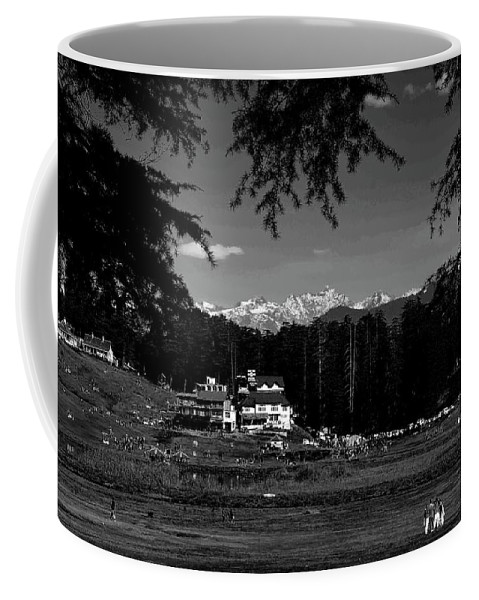 Landscape Coffee Mug featuring the photograph Paradise II by Arindra Dey