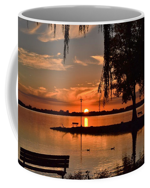 Sunset Coffee Mug featuring the photograph Paradise In Wisconsin by Mandy Frank