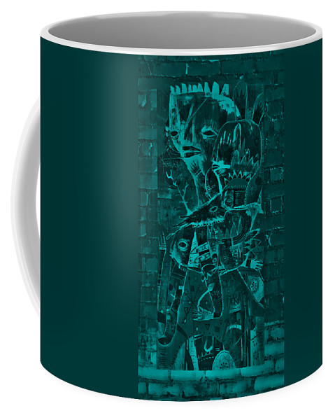 Inca Coffee Mug featuring the photograph Paramount Turquoise by Rob Hans