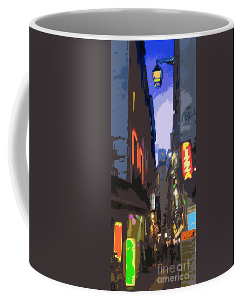 Paris Coffee Mug featuring the photograph Paris Quartier Latin 01 by Yuriy Shevchuk