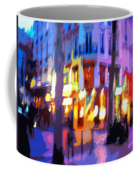 Paris Coffee Mug featuring the photograph Paris Quartier Latin 02 by Yuriy Shevchuk