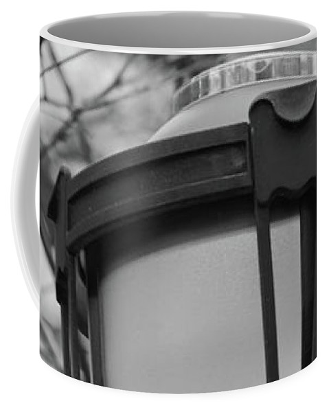 Park Light Coffee Mug featuring the photograph Park Light by Sandy Taylor