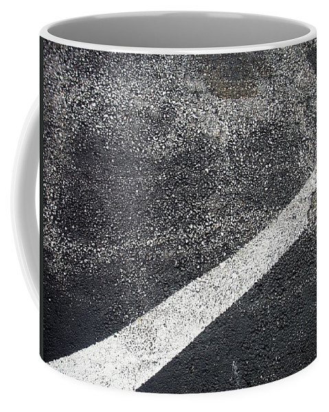 Parking Lot Coffee Mug featuring the photograph Parking Lot 1 by Anita Burgermeister