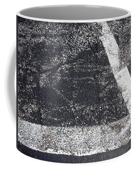 Parking Lot Coffee Mug featuring the photograph Parking Lot 2 by Anita Burgermeister