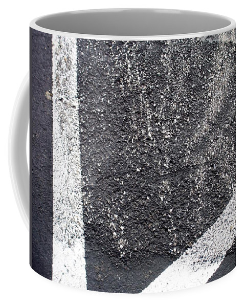 Parking Lot Coffee Mug featuring the photograph Parking Lot 4 by Anita Burgermeister