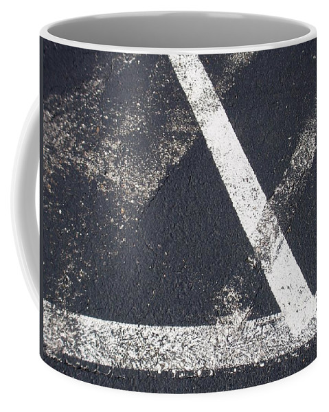 Parking Lot Coffee Mug featuring the photograph Parking Lot 6 by Anita Burgermeister