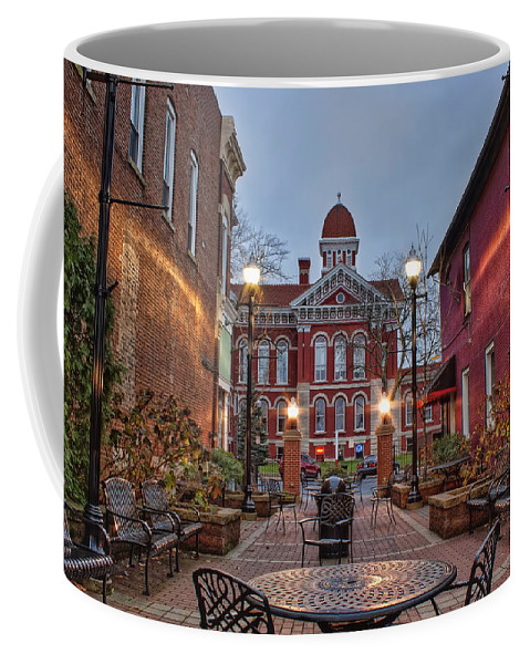 Courthouse Coffee Mug featuring the photograph Parry Court by Scott Wood
