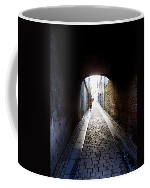 Cooblestone Coffee Mug featuring the photograph Passage by Tim Nyberg