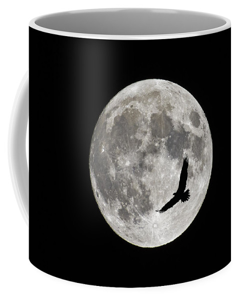 Full Moon Coffee Mug featuring the photograph Passing By by Tony Beck