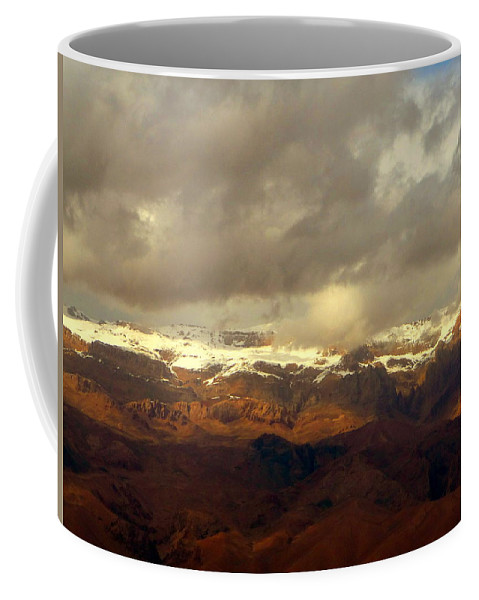 Nature Coffee Mug featuring the photograph Passing Shadows by Anna Duyunova