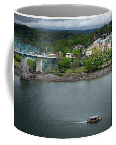Greg Mimbs Coffee Mug featuring the photograph Passing Storm In Chattanooga by Greg Mimbs