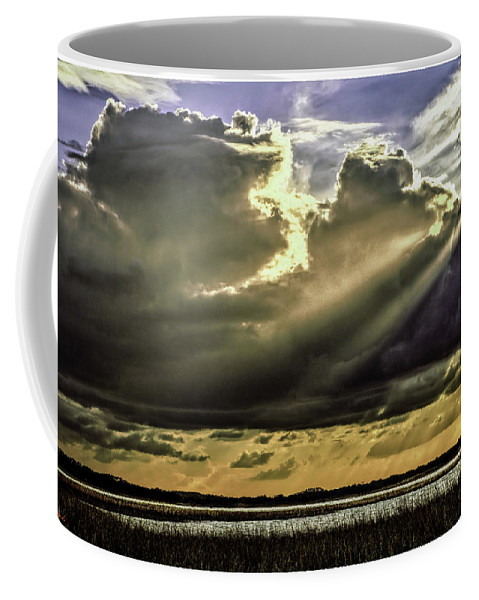 Forida Coffee Mug featuring the photograph Passing Storm by Rogermike Wilson