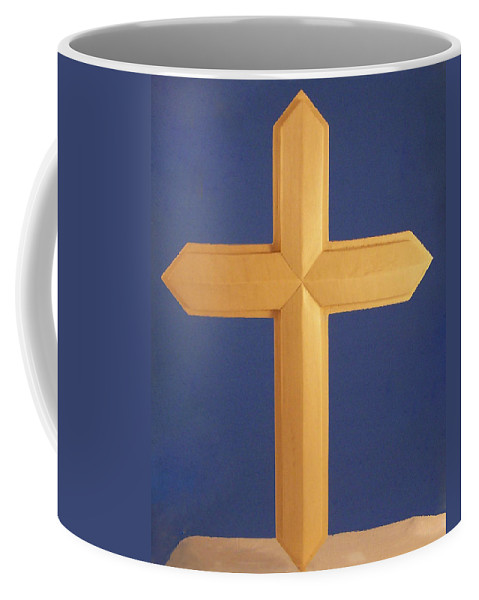 Passion Cross Coffee Mug featuring the photograph Passion Cross by James Pinkerton