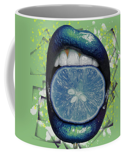 Woman Coffee Mug featuring the photograph Passion Fruit by Derron Ridley