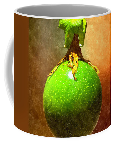 Passion Fruit Coffee Mug featuring the digital art Great Passion Fruit by Max Steinwald