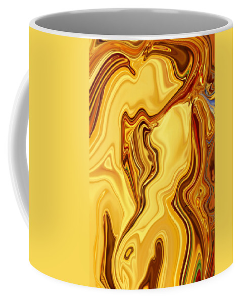 Abstract Coffee Mug featuring the digital art Passion by Rabi Khan