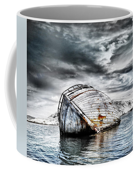 Photodream Coffee Mug featuring the photograph Past Glory by Jacky Gerritsen