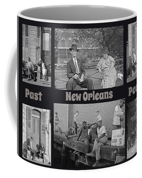Past New Orleans People Coffee Mug featuring the painting Past New Orleans People by John Malone
