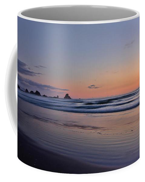Oregon Coffee Mug featuring the photograph Pastel Coastline by Don Schwartz