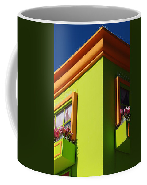 Sky Coffee Mug featuring the photograph Pastle Corners by Rob Hans