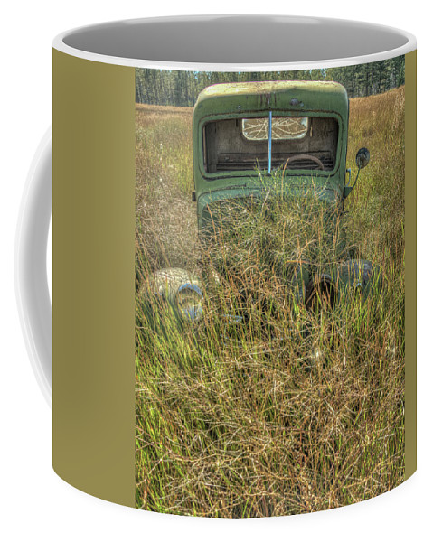 Landscape Coffee Mug featuring the photograph Pasturized Since The 1930's by Constance Puttkemery