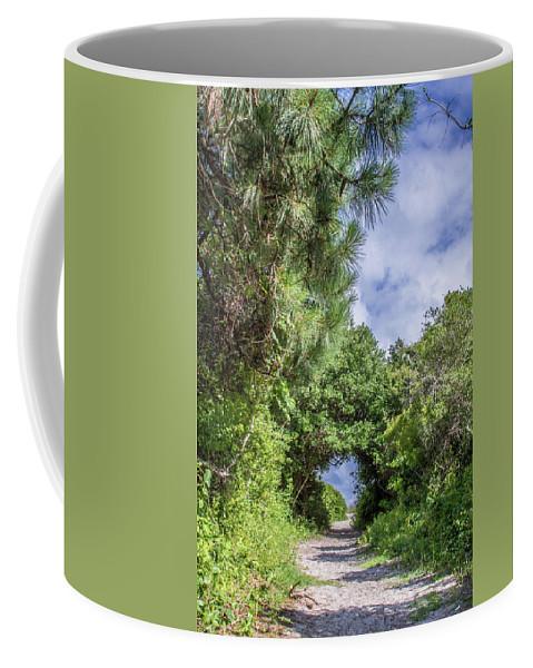 Huntington Coffee Mug featuring the photograph Path To Huntington Beach by Scott Kwiecinski
