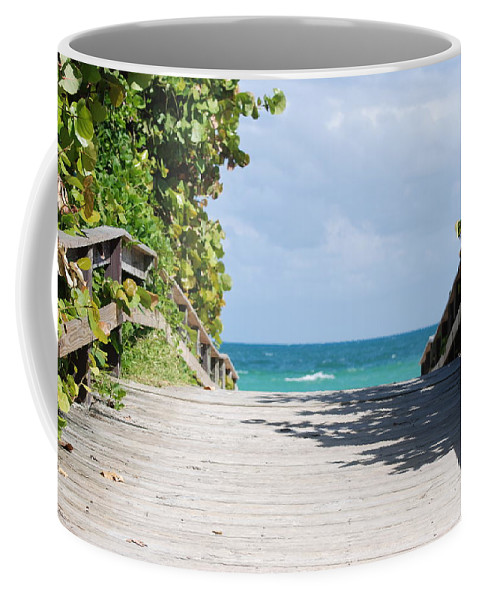 Sea Scape Coffee Mug featuring the photograph Path To Paradise by Rob Hans