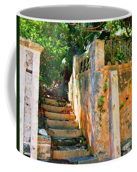 Steps Coffee Mug featuring the photograph Pathway by Debbi Granruth
