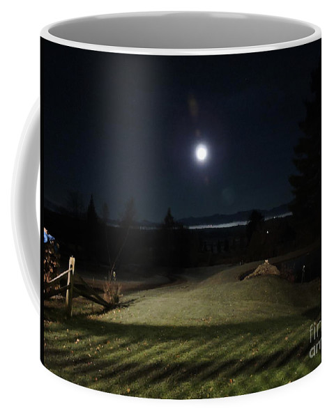 Vermont Coffee Mug featuring the photograph Pathway To The Moon by Susan Russo