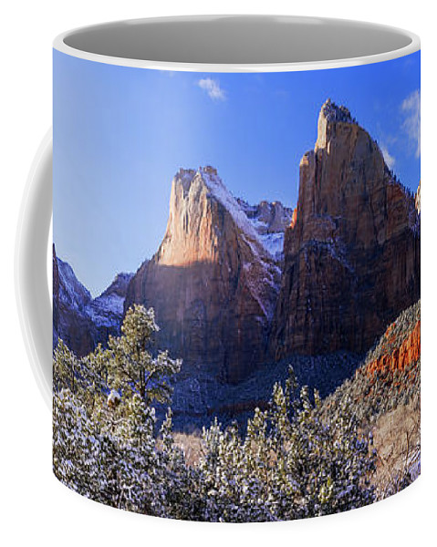 Patriarchs Coffee Mug featuring the photograph Patriarchs by Chad Dutson