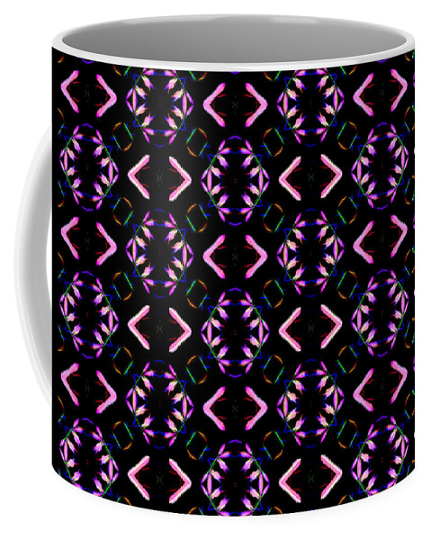 Abstract Coffee Mug featuring the photograph Pattern 58 by Kristalin Davis