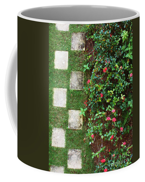 Pattern Coffee Mug featuring the photograph Pattern Work by Deborah Crew-Johnson