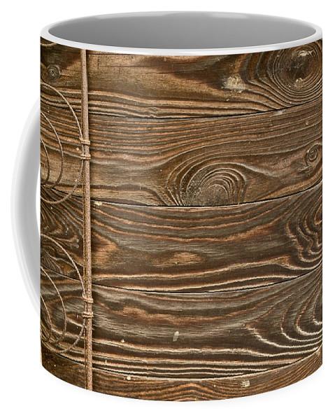 Wood Coffee Mug featuring the photograph Patterns Of Life by Douglas Barnett