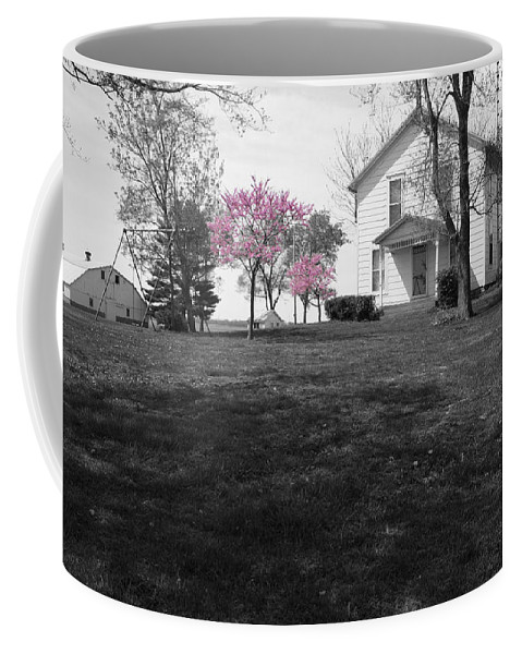 Landscape Coffee Mug featuring the photograph Patton Place by Dylan Punke